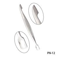 Пушер для кутикулы PN-12 двухсторонний,