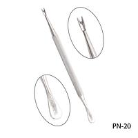 Пушер для кутикулы PN-20 двухсторонний с триммером,