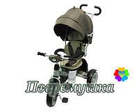 Детский трехколесный велосипед Crosser T 503 Eva - Коричневый