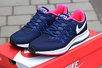 Женские кроссовки Nike Zoom Pegasus 34 фиолетовые 2003