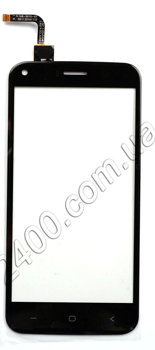 Тачскрин (сенсор) для телефона Bravis A506 Crystal черный