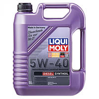 Синтетическое моторное масло - Liqui Moly Diesel Synthoil SAE 5W-40   5 л.