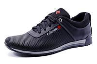 Туфли  Columbia мужские спортивные, натуральная кожа, черные, р. 40