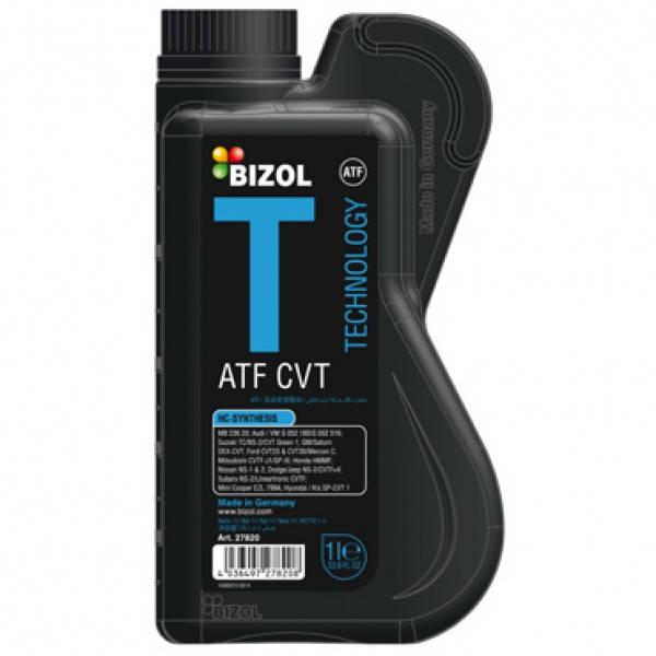 Масло трансмиссионное - BIZOL Technology ATF CVT 1л, фото 2