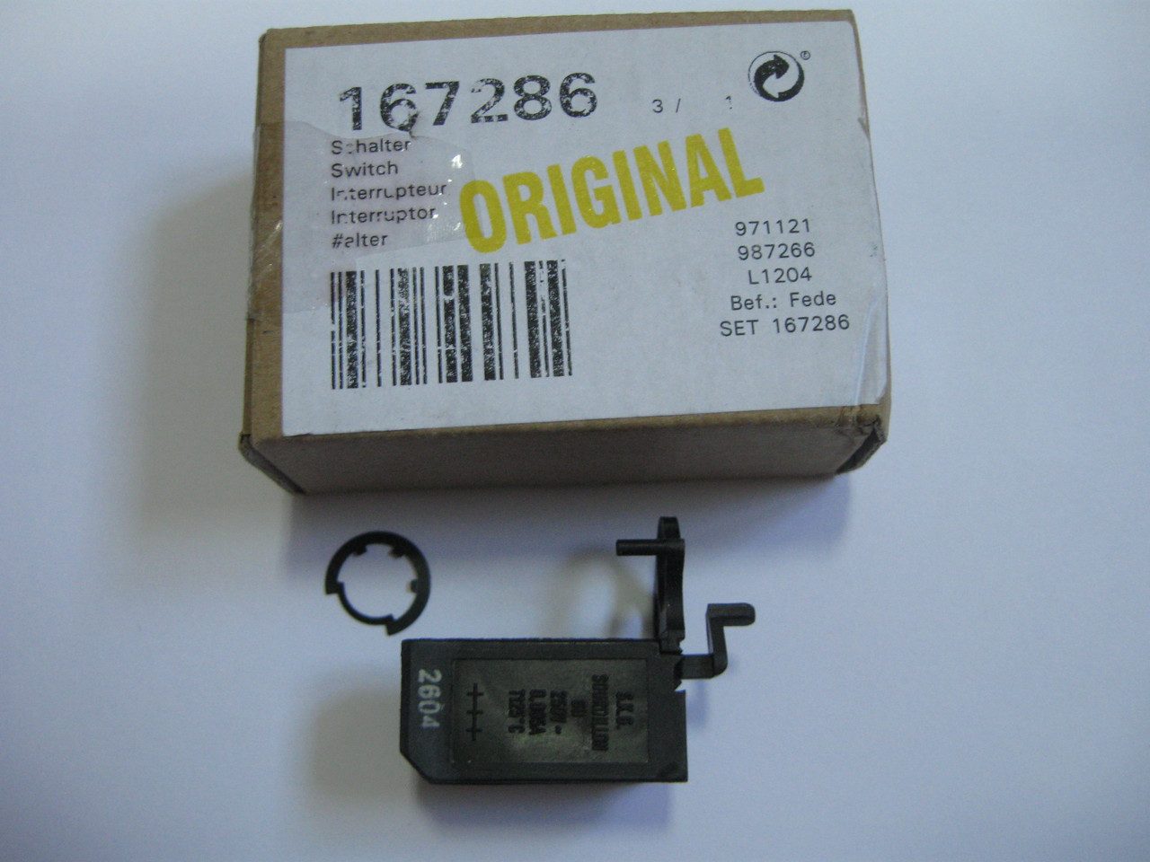 Переключатель газовой поверхности Bosch 00167286