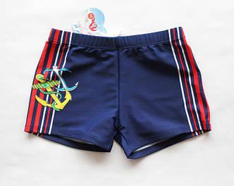 Детские плавки-боксеры для мальчиков в морском стиле , фото 2
