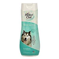Шампунь 8 in 1 Perfect Coat Shed Control Shampoo для собак, контроль линьки, 473 мл