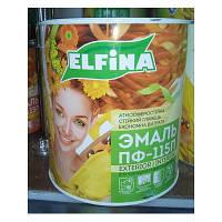 Эмаль ELFINA алкидная ПФ-115 бежевая 0,9кг