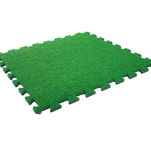 Пазлы с искусственной травой