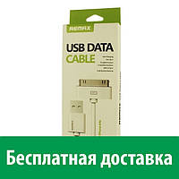 Кабель Remax USB Data Cable для iPhone 4 (Айфон 4, 4с, 4 с)