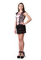 Платье с гипюровыми вставками Chanel