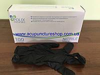 Перчатки медицинские нитриловые Polix PRO&MED