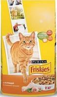 Friskies с курицей и овощами 10 кг  - Корм для взрослых котов