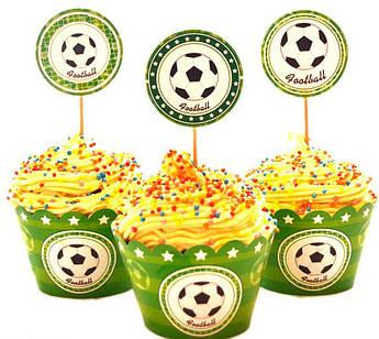 Набор для кексов Футбольная вечеринка