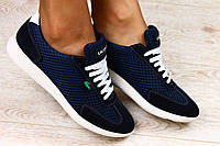 Легкие женские кроссовки сетка , в стиле Lacoste 2017