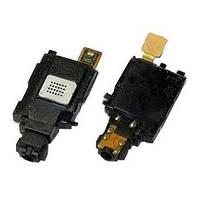 Динамік на мелодію (бузер) Samsung S5660 з антеною (Чорний) Original