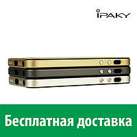 Защитный чехол iPaky для Apple iPhone 5/5s (ТПУ + пластик) (Айфон 5, 5с, 5 с, 5 се)