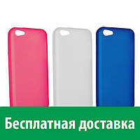 Чехол-бампер TPU для Apple iPhone 5c (полупрозрачный) (Айфон 5си, 5 си)