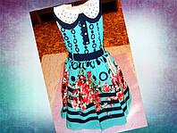 Нарядное платье  для девочки 5-8 лет