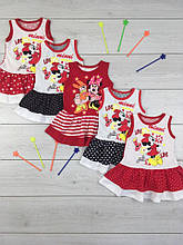Платье Малышка накатка кулир