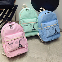 Модный школьный рюкзак Париж