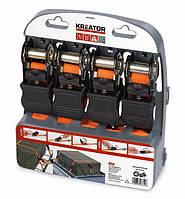 Набор ремней для багажа  Kreator KRT555007 225KG/4,5M