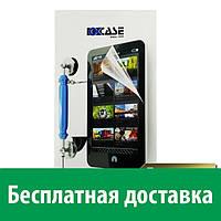Защитная пленка OKCase для Apple iPhone 5/5s/SE Фронтальная + Задняя (глянцевая) (Айфон 5, 5с, 5 с, 5 се)