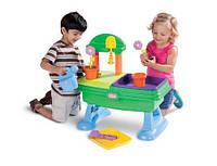 Игровой стол-песочница Little tikes Юный садовод 630453m