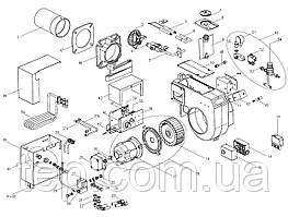 Giersch GU100 Прокладка кришки корпусу пальника