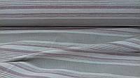 Льняная ткань для постельного белья в полоску (шир. 260 см)