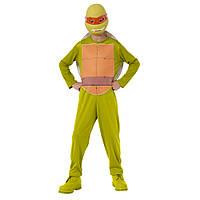 Nickelodeon TMNT Костюм черепашки-ниндзя  Микеланджело (трико, панцырь, маска)