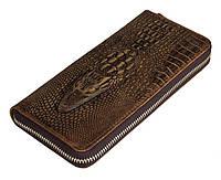 Оригинальное портмоне крокодил