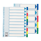 Разделители для регистраторов и документов