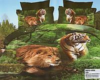 Постельное Белье 3D в тигры