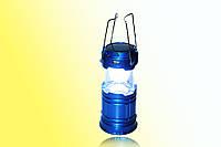 Фонарь для кемпинга JH5700T 5 + 1 LED Power bank, солнечная батарея