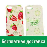 Чехол-бампер Cocktail Series для iPhone 5/5s (со стразами) (Айфон 5, 5с, 5 с, 5 се)