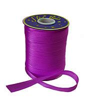 Косая бейка (атласная) - цвет фиолетовый