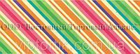 Декоративная бордюрная лента — Полоска диагональная - Н60 - 500 м