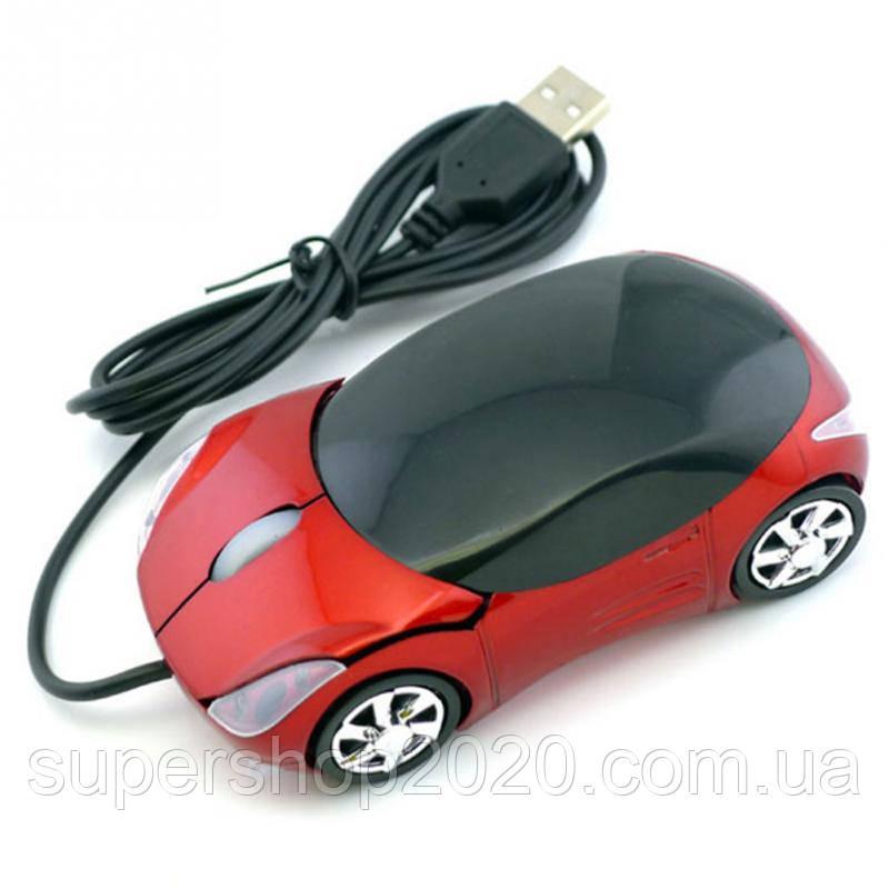 "Компьютерная мышка - машинка ""Porsche"" Red"