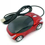 "Комп'ютерна мишка - машинка ""Porsche"" Red, фото 2"