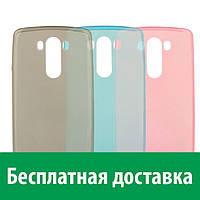 Чехол-бампер TPU для LG G3 D855, D856 (ультратонкий) (Лджи джи 3)