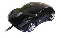 """Компьютерная мышка - машинка """"Porsche"""" Black"""