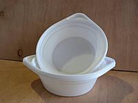 Тарелка глубокая (миска) одноразовая 500 мл белая