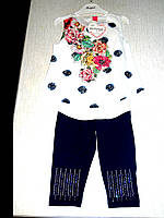 Нарядный летний костюм на девочку 2- 5лет