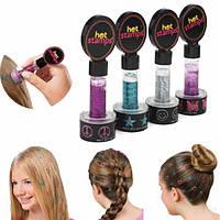 Штампы для украшения волос Hot Stamps, 4шт/уп