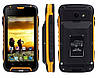 "Jeep F605 PRO black-yellow IP68 2/16Gb, 4.5"", MT6572М, 12000mAh, 3G, фото 2"