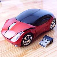 Беспроводная мышка-машинка Ferrari Red