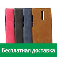 Кожаный бампер MOFI для Xiaomi Redmi Note 3 (Сяоми (Ксиаоми, Хиаоми) Редми Ноте 3, Редми Ноте 3 про, Редми Ноут 3, Редми Ноут 3 про)