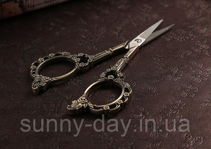 """Ножницы для рукоделия """"Цветочный узор"""""""
