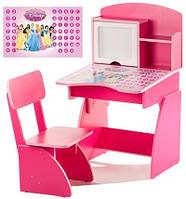 """*Набор детской мебели - Парта и стульчик """"Принцессы"""" арт. 109"""